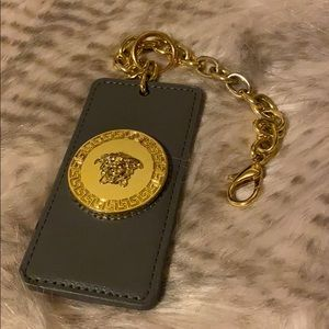 Versace luggage ID tag or purse Charm